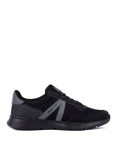 Slazenger Slazenger ICONA Koşu & Yürüyüş Erkek Ayakkabı  Siyah